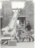 Bergleute beim Eigenheimbau in Wemmetsweiler 1969